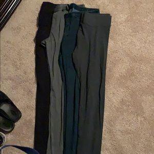 Hue leggings, size large